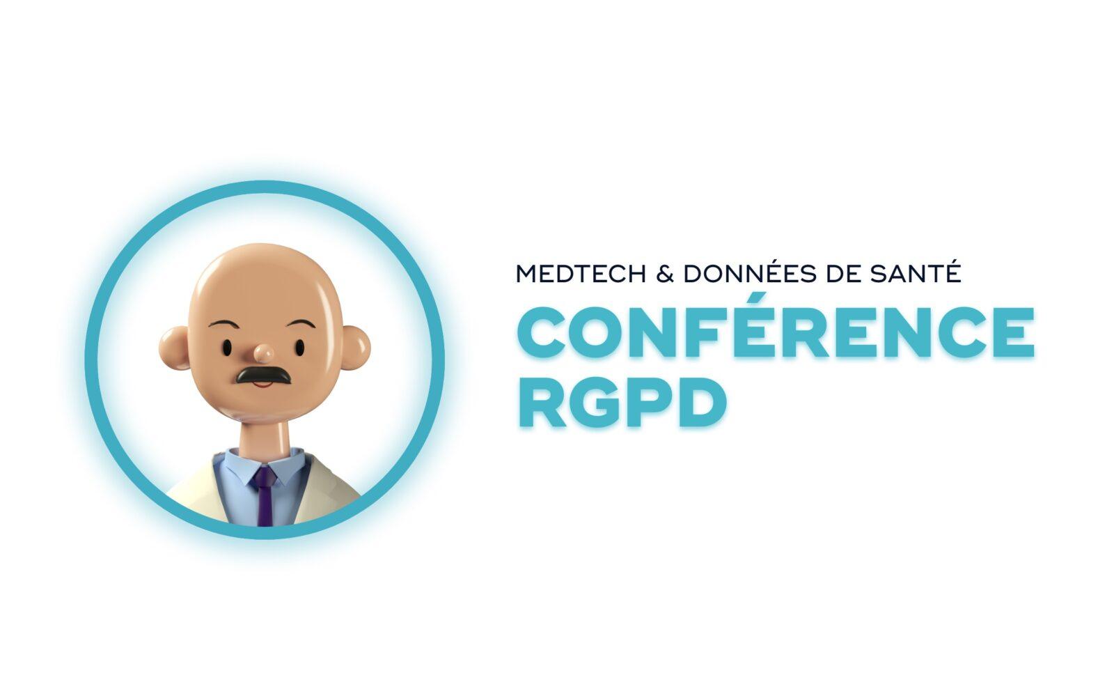 Conférence RGPD sur les données de santé
