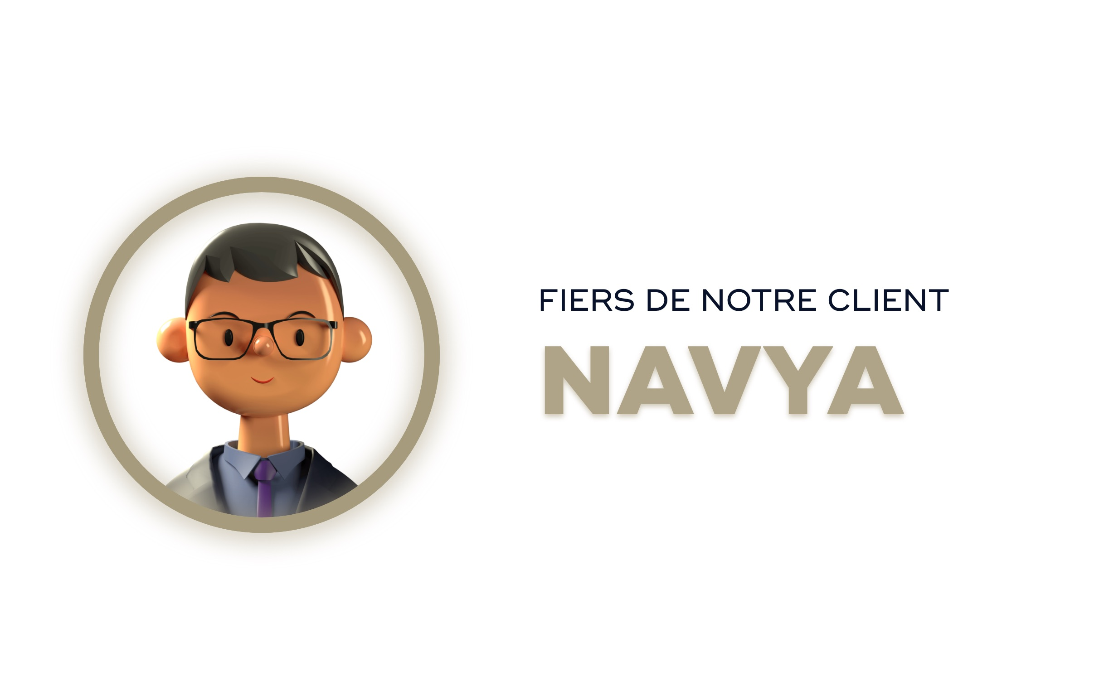 Fiers de notre client Navya